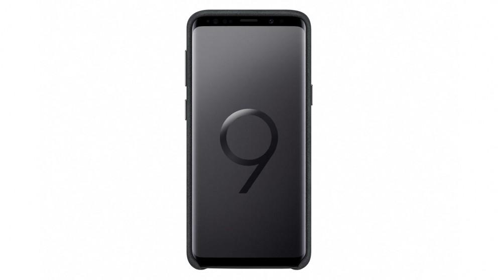 official photos 7474d b97f4 Samsung Galaxy S9 Alcantara Case - Black