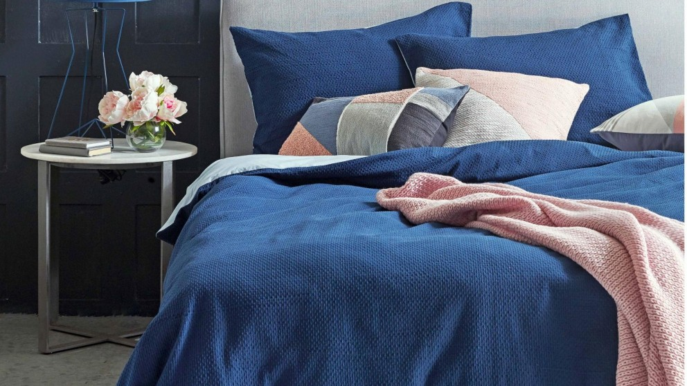 Molly Indigo Single Quilt Cover Set