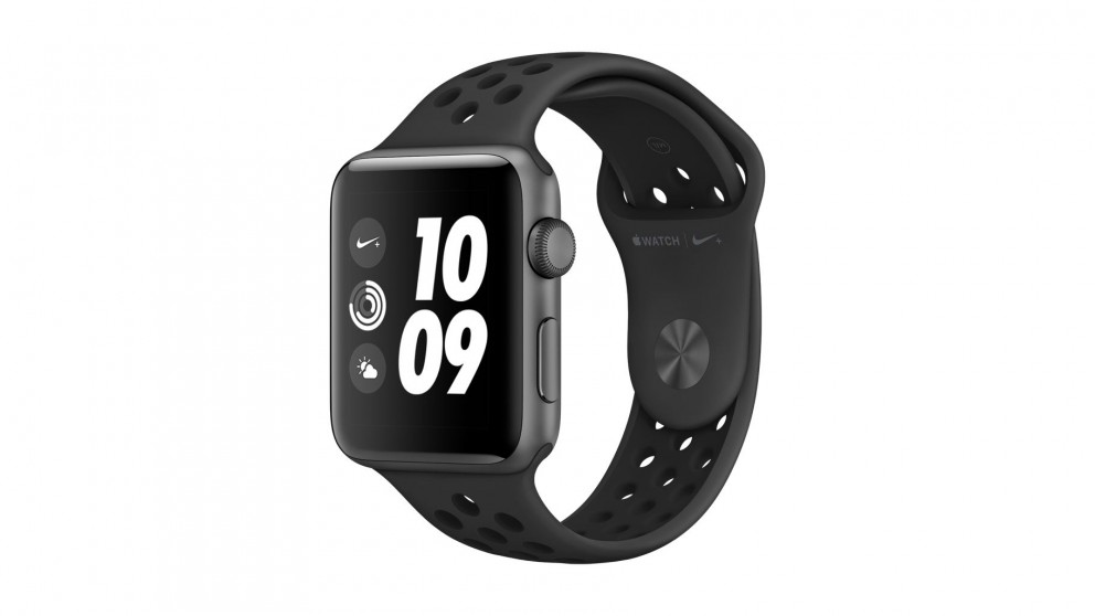 6f4cd4693a49 Cheap Apple Watch Nike+ Series 3 - 38mm Space Grey Aluminium Case with  Anthracite Black Sport Band - GPS