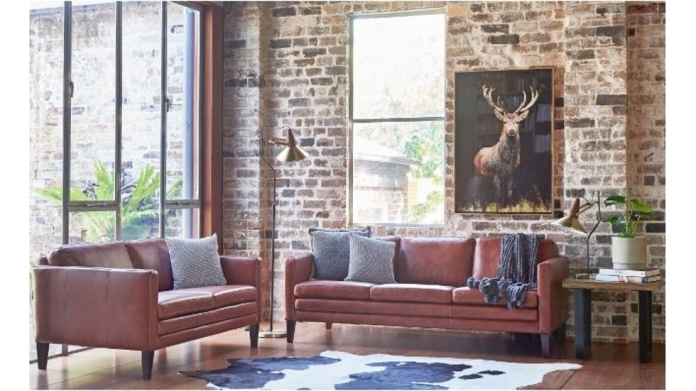 Stupendous Buy Capurso 3 Seater Leather Sofa Harvey Norman Au Gmtry Best Dining Table And Chair Ideas Images Gmtryco