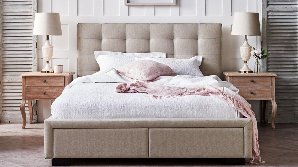 Buy Evelyn Queen Bed Harvey Norman Au
