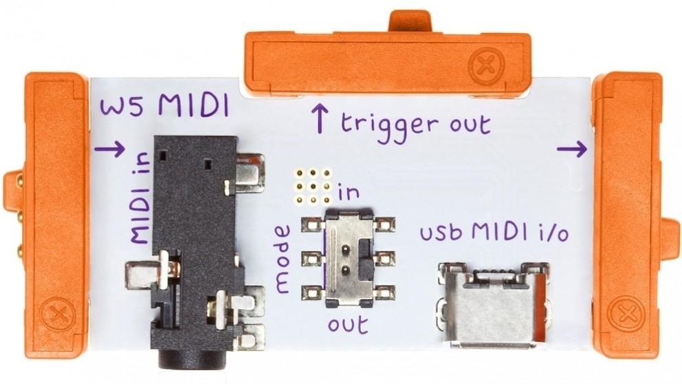 littleBits Wire Bits MIDI
