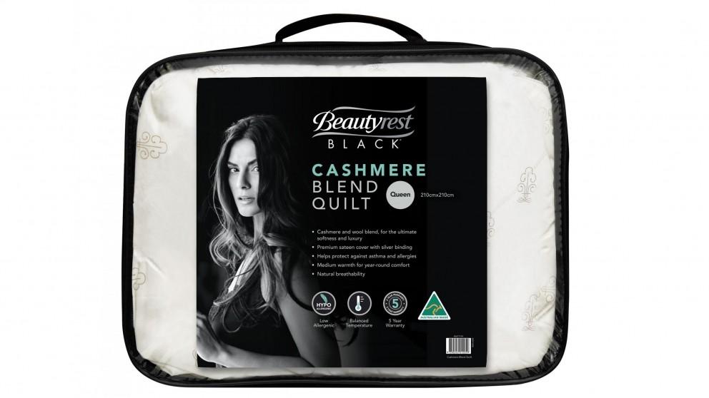 a18833770057 Buy Beautyrest Black Queen Wool Blend Quilt