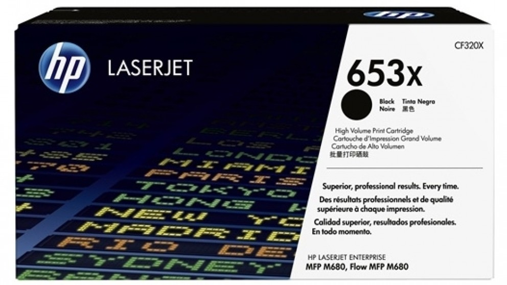 HP 653X Laser Jet Toner Cartridge - Magenta
