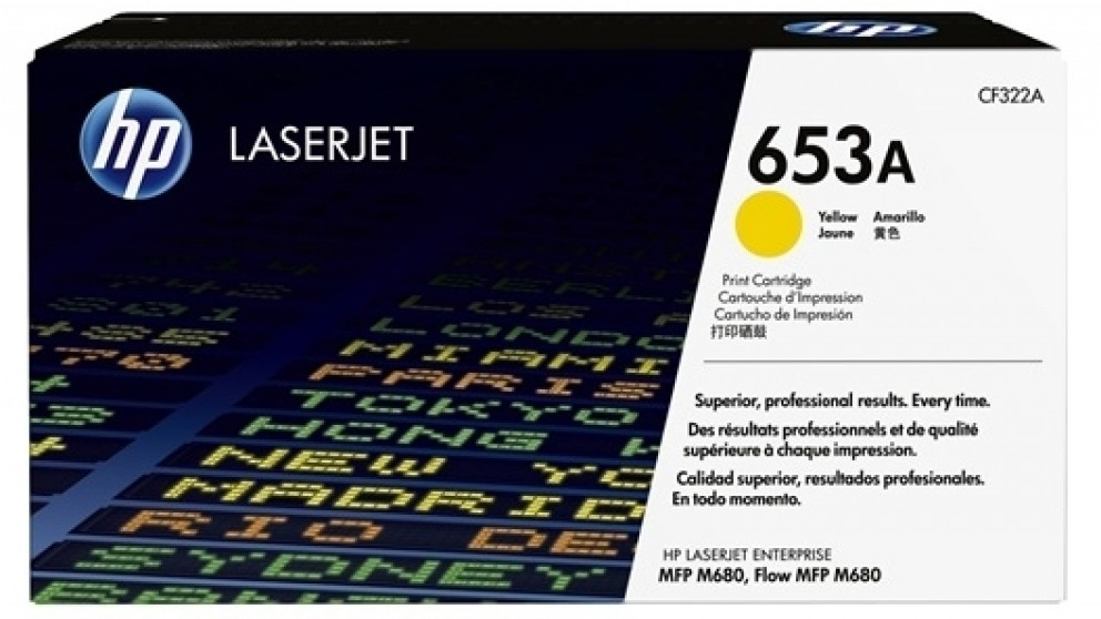 HP 653A Laser Jet Toner Cartridge - Yellow