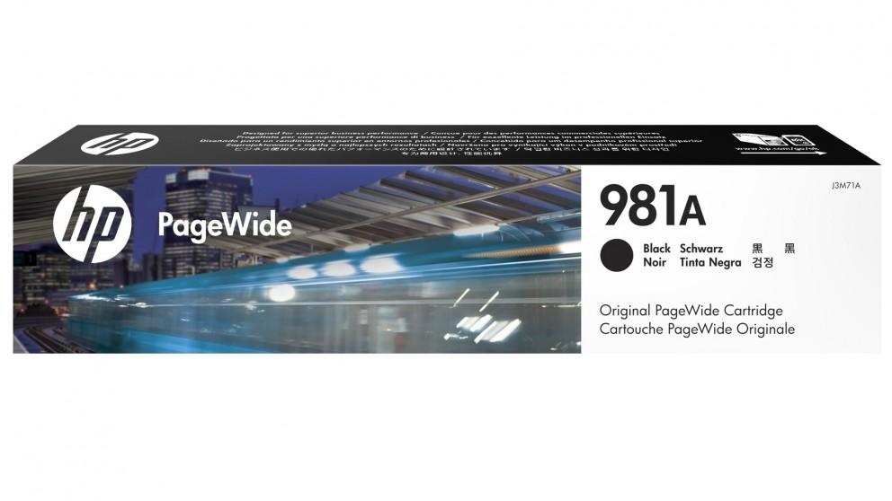HP 981A PageWide Ink Cartridge - Black