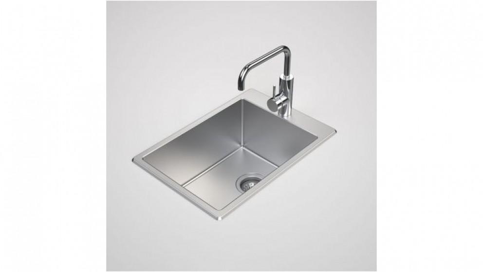 Caroma Compass 35L Flushline Laundry Tub 1-Tap Hole