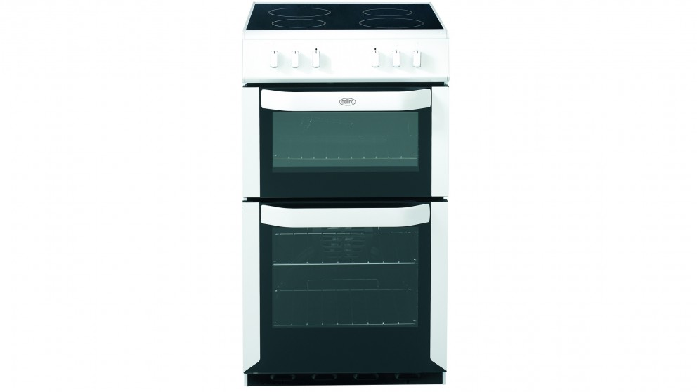 Belling 544mm Freestanding Electric Twin Cavity Cooker - White