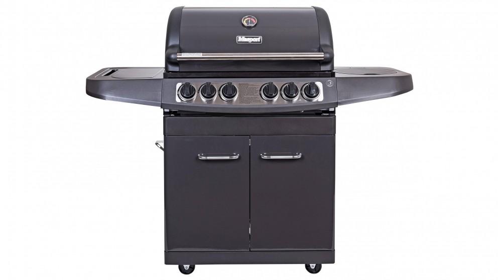 Masport Maestro 4-Burner BBQ - Graphite