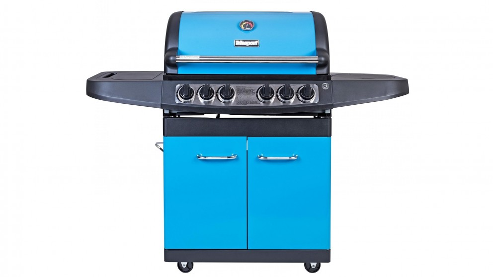 Masport Maestro V2 4-Burner BBQ - Kool Blue