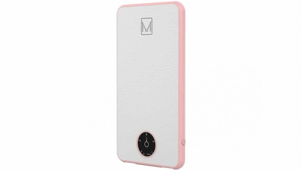 Moyork Watt Leather 6000mAh Power Bank - White