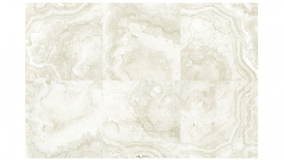 Tivoli 300x300mm Ivory Travertine Tile