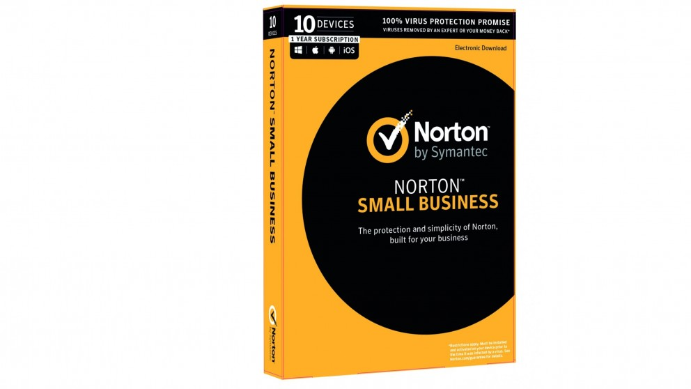 Norton Small Business - 1 Year for 10 Devices