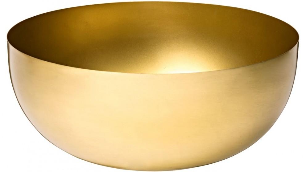 Regency Brass Large Bowl - Gold