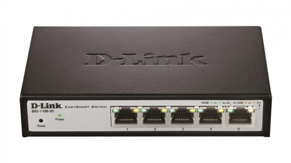 D-Link 5-Port Gigabit EasySmart Switch