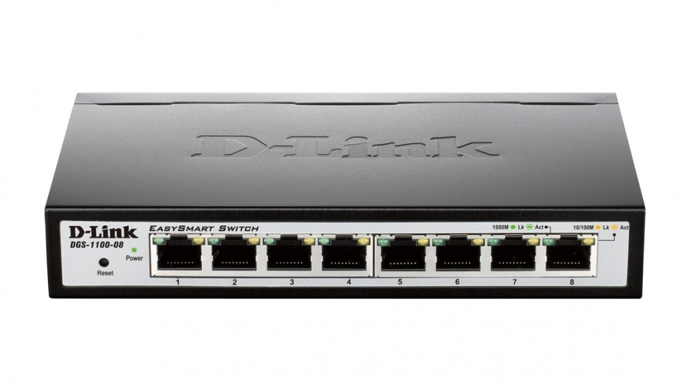 D-Link 8-Port Gigabit EasySmart Switch