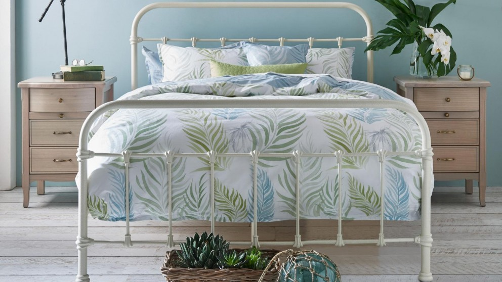Shelby Bed - White