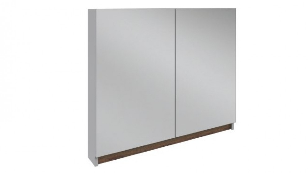 Buy rifco infinity 750x1200mm 3d shaving cabinet harvey for Bathroom cabinets harvey norman