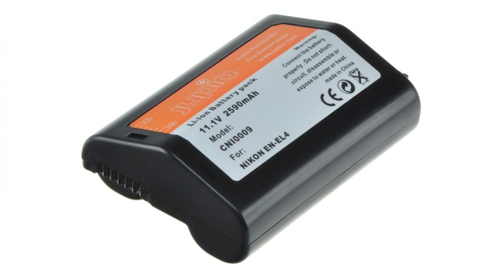 Jupio Nikon EN-EL4 2200mAh Battery