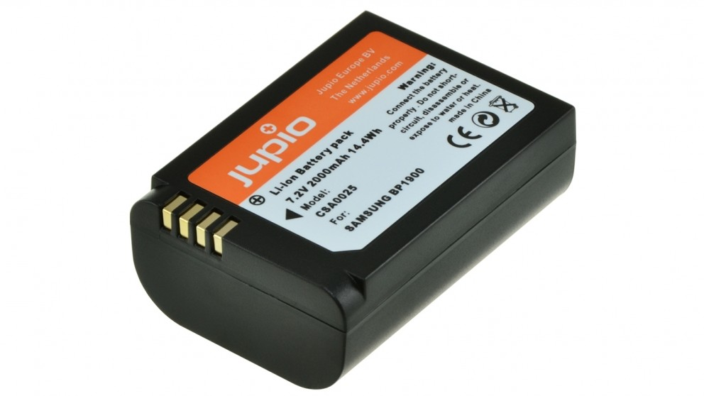Jupio Samsung NX1 BP1900 2000mAh Battery