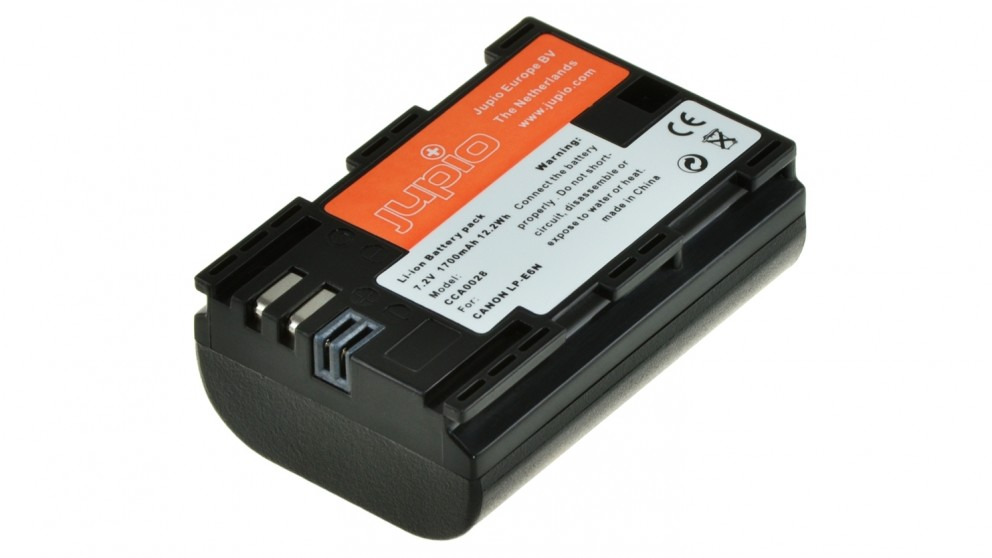 Jupio Canon LP-6N 1700mAh Battery
