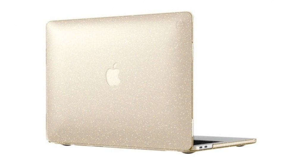 "Speck Smartshell Case for MacBook Pro 13"" With/Without Touch Bar - Clear Gold Glitter"