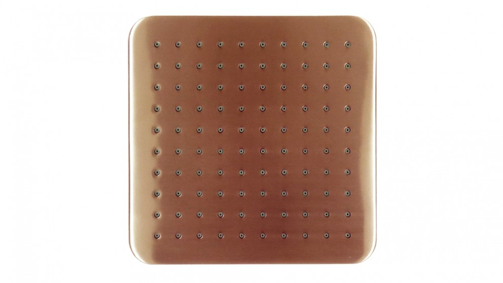 Arcisan Synergii Square Brushed Rose Gold Shower Head
