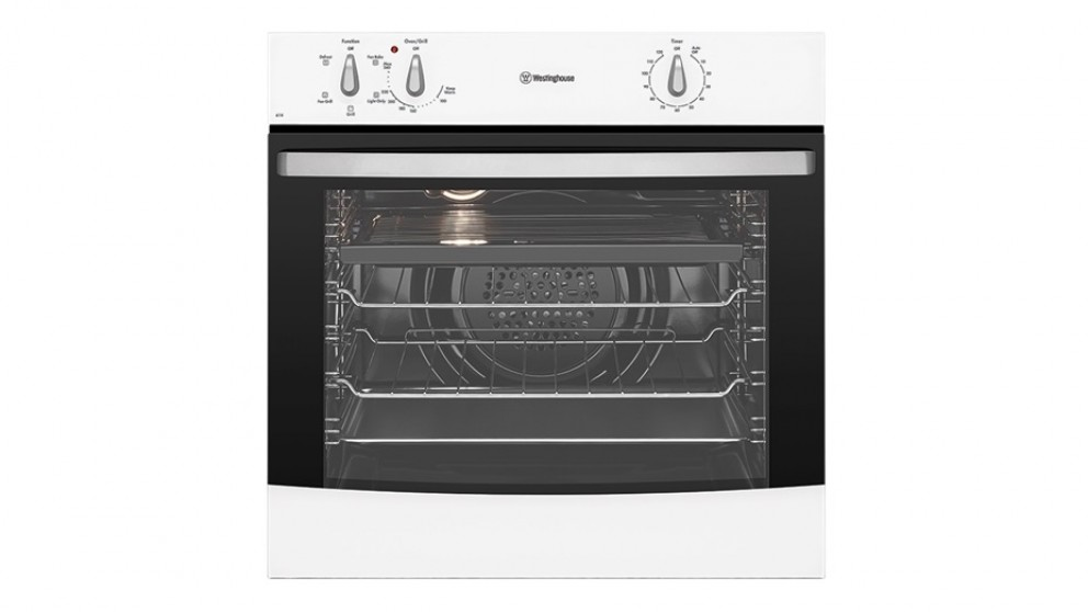Westinghouse 60cm Fan Forced Electric Oven - White