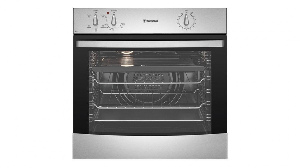 Westinghouse 600mm Fan Forced Electric Oven - Stainless Steel