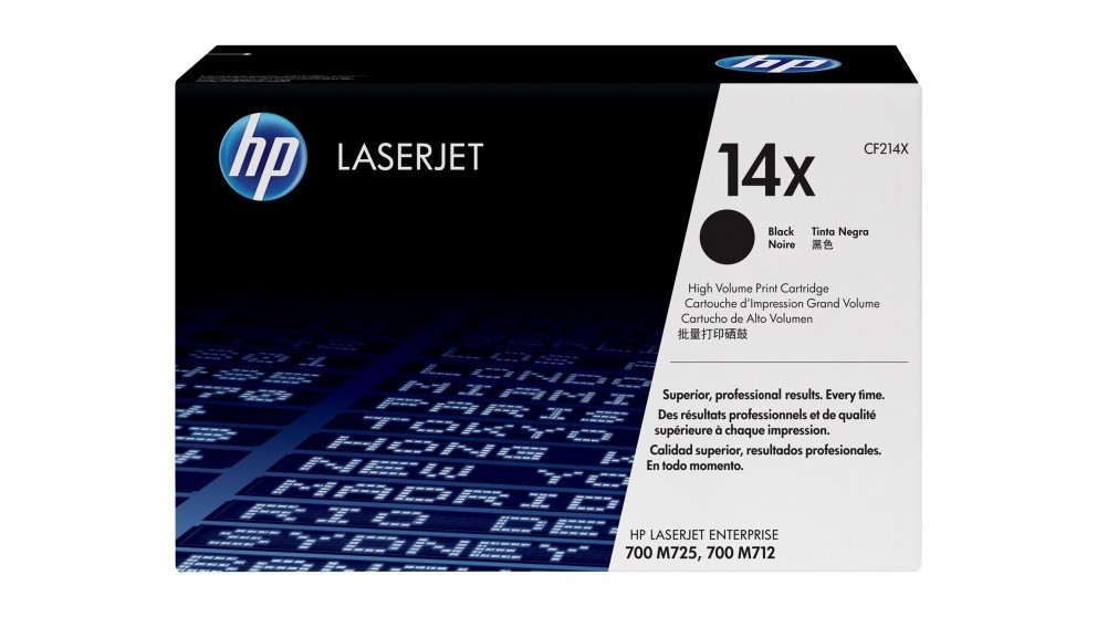 HP 14X High Yield LaserJet Toner Cartridge - Black