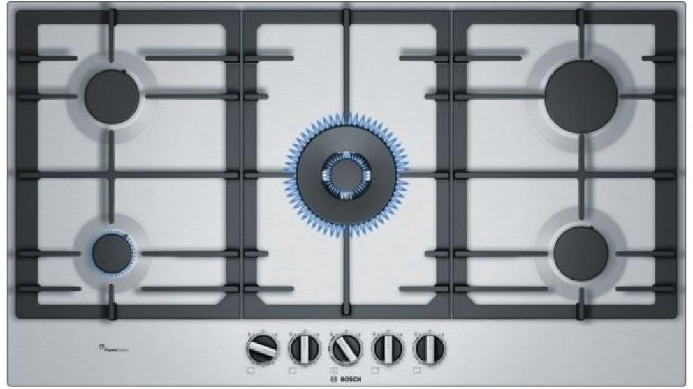 Bosch 900mm Series 6 5 Burner Gas Cooktop