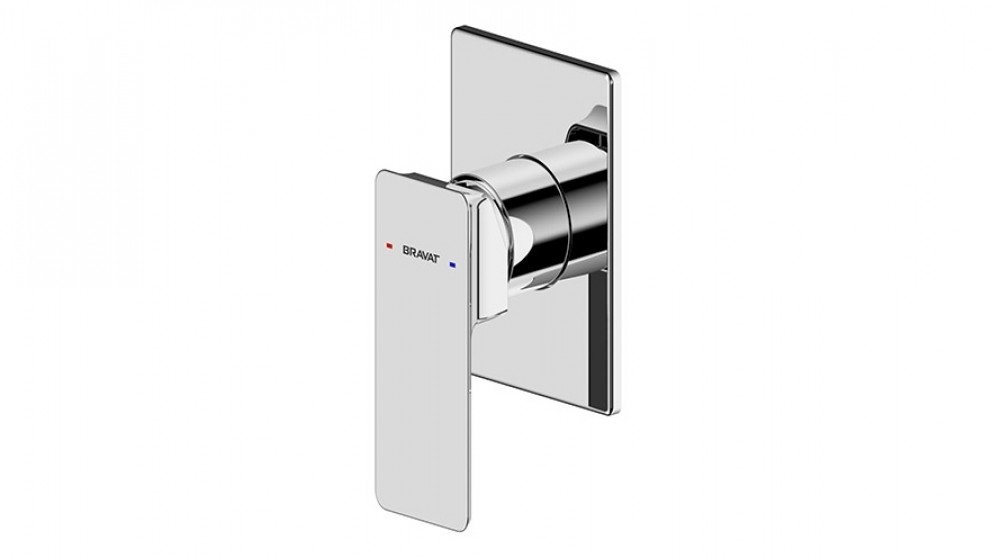 Bravat Phillis Shower/Bath Mixer - Chrome