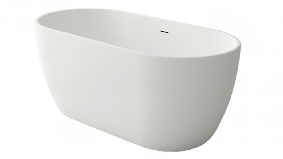 Arcisan Synergii 1500mm Solid Surface Freestanding Bath - Matte White