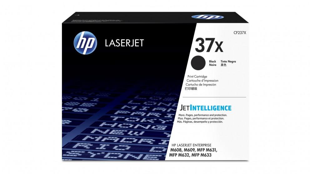 HP 37X High Yield LaserJet Toner Cartridge - Black