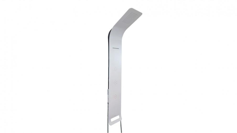 Arcisan Synergii Shower Panel Retrofittable Right Side Operation - White