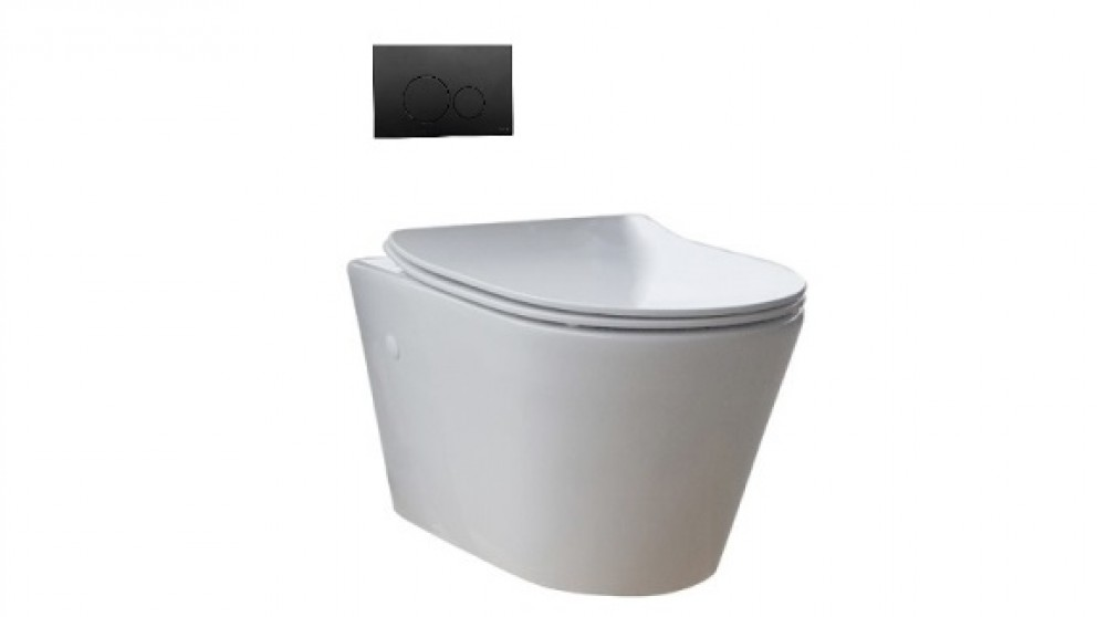 Parisi Linfa Wall Hung Toilet Suite