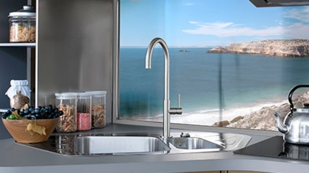 Sottile Stainless Steel Kitchen Sink Mixer
