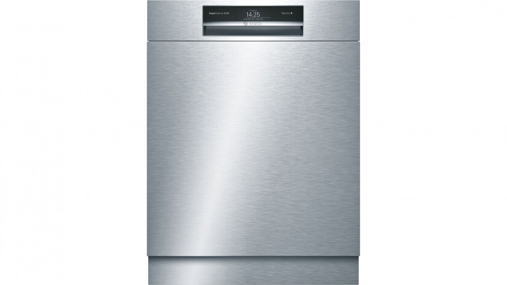 buy bosch 60cm series 8 built under dishwasher stainless. Black Bedroom Furniture Sets. Home Design Ideas