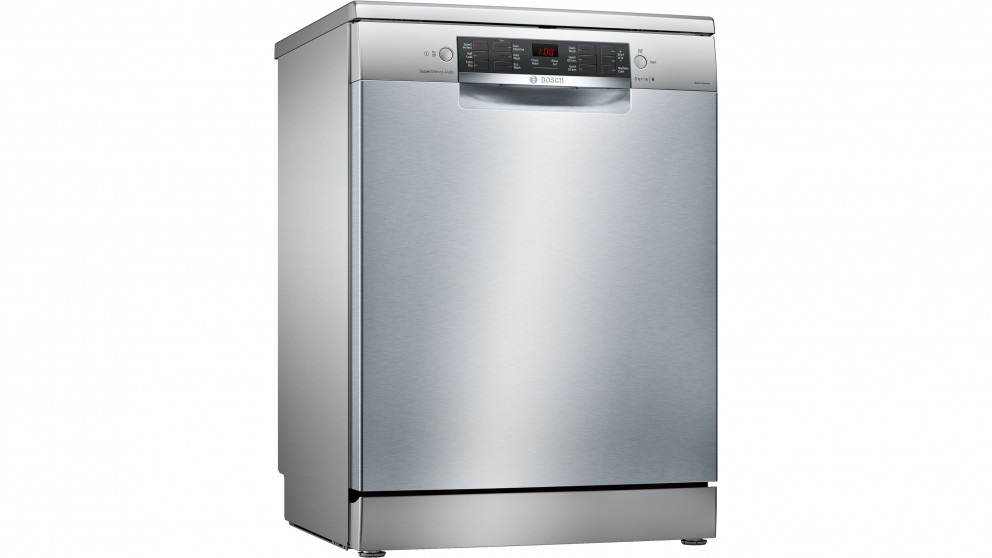 Bosch 60cm Series 6 Anti-Fingerprint Freestanding Dishwasher