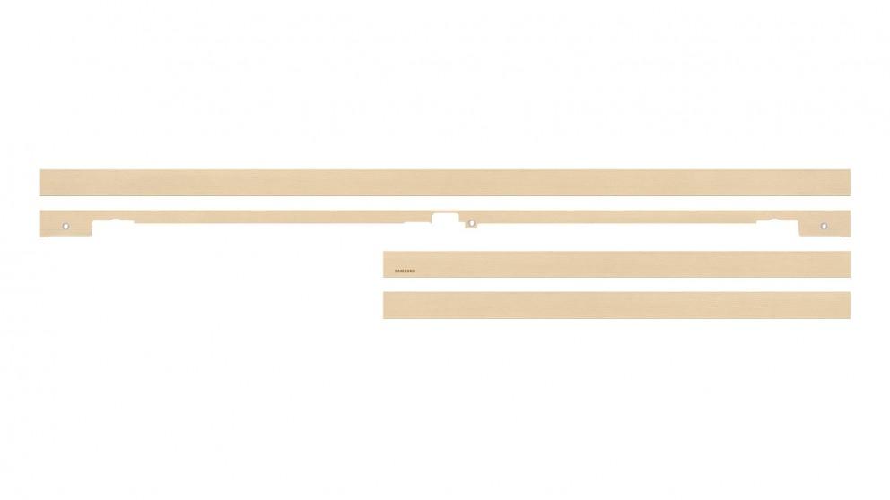 Samsung Beige Wood Bezel for 65-inch The Frame TV