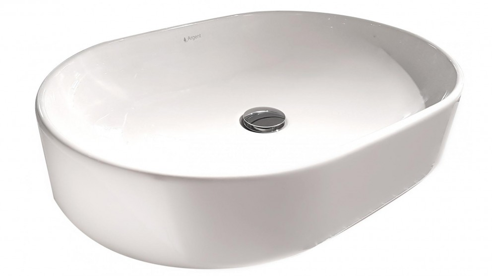 Argent Grace Oval Countertop Basin without Tap Hole