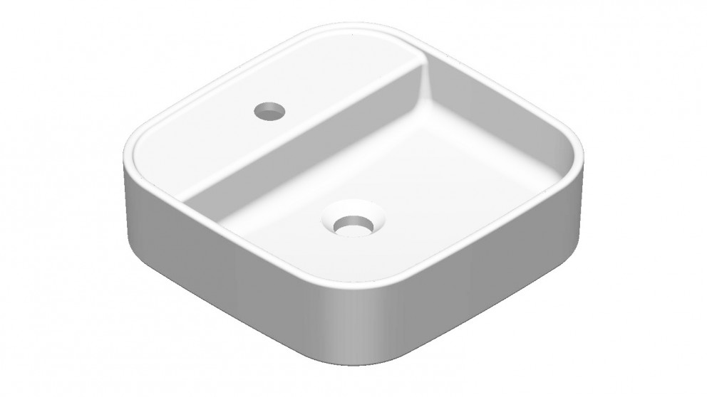 Argent Grace Square Countertop Basin with Tap Hole
