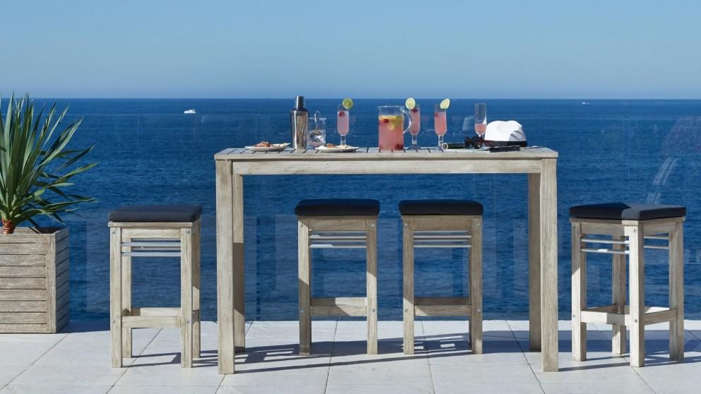Buy Hayman 5 Piece Outdoor Rectangular Bar Setting