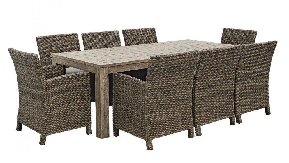 Item Added To Cart. Back Close. Capella 9 Piece Outdoor Dining Setting Part 57
