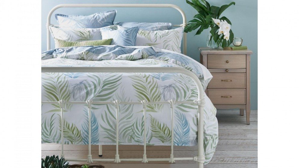 Palm Cove Queen Quilt Cover Set