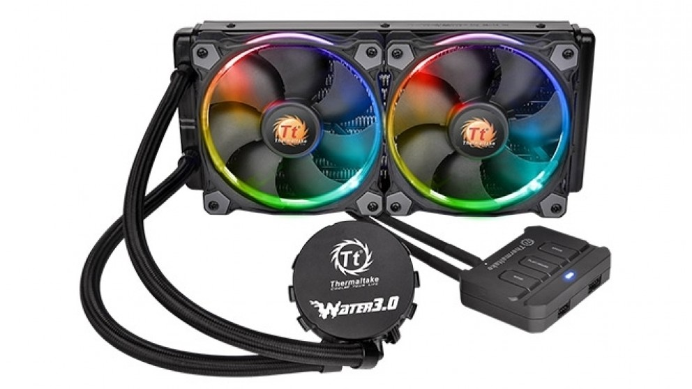 Thermaltake Water 3.0 Riing RGB 240 CPU Liquid Cooler