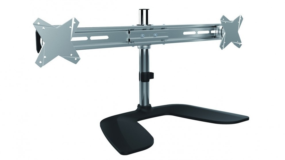 """Brateck Free Standing 13 - 27"""" LCD Dual Monitor Desk Stand"""