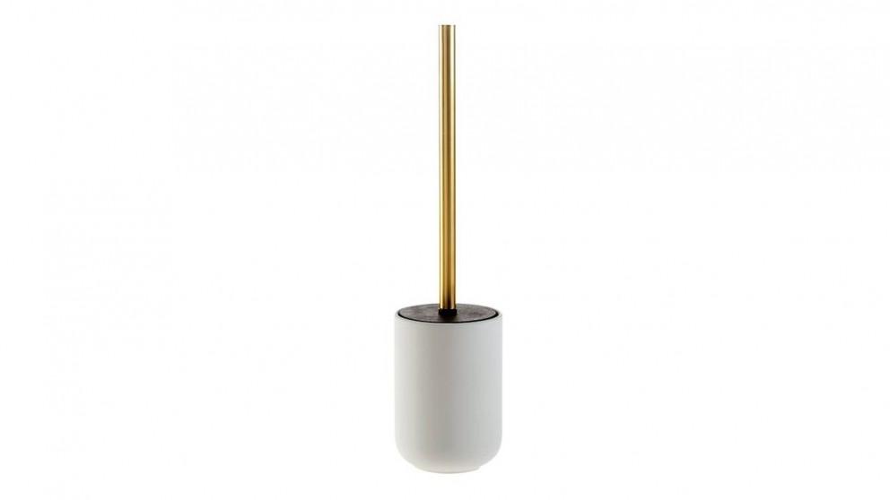 Seaspray Toilet Brush Holder - Pearl