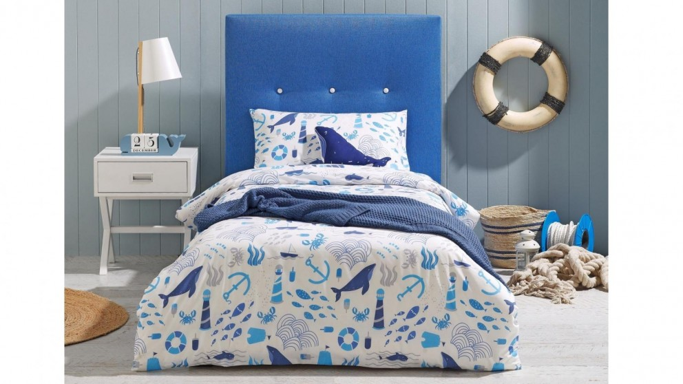 Out to Sea Quilt Cover Set
