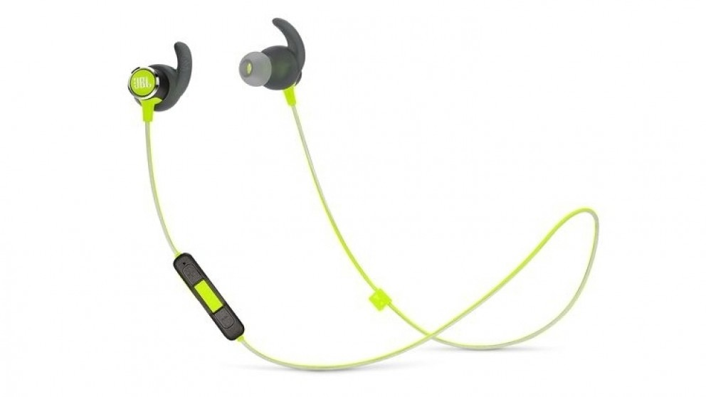 04b3884bf77 Cheap JBL Reflect Mini 2 Wireless In-Ear Sport Headphones - Green | Harvey  Norman AU